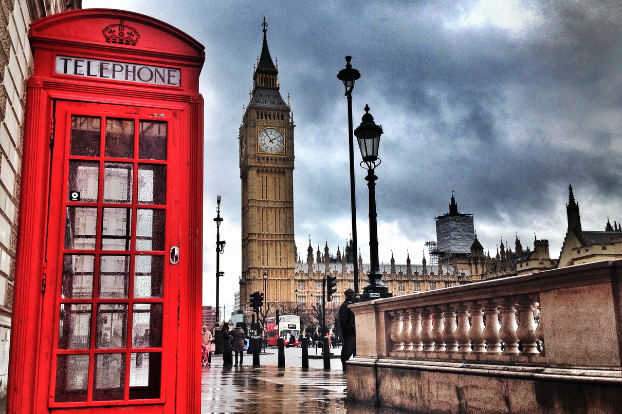 ซัมเมอร์อังกฤษ 2017 เมืองลอนดอน เดือนเมษายน 2560