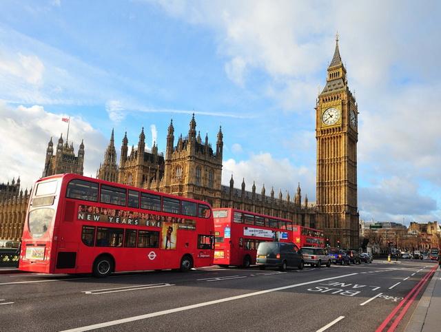 ซัมเมอร์อังกฤษ 2018 เมืองลอนดอน เดือนเมษายน 2561